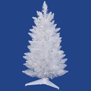 Sparkle White Spruce 36-Inch Pencil Christmas Tree