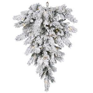 Snow Ridge 36-Inch Tear Drop w/50 Warm White LED Lights and 120 Tips
