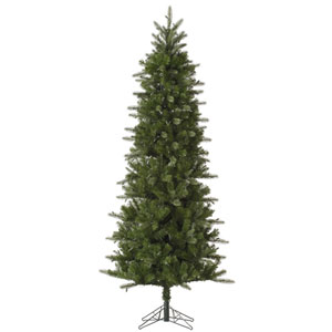 Green 7.5 Foot Carolina Pencil Spruce Christmas Tree