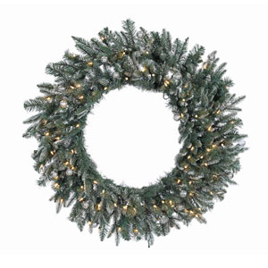36 In. Crystal Balsam Wreath