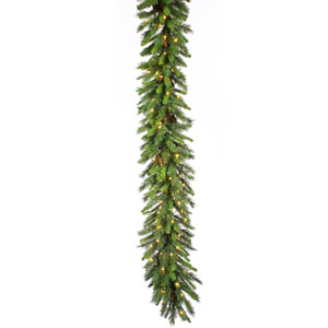 Cheyenne Pine 50-Foot Garland w/350 Clear Mini Lights and 1320 Tips