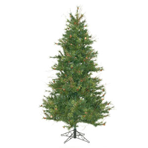 Mixed Country 6.5-Foot Christmas Tree w/834 Tips