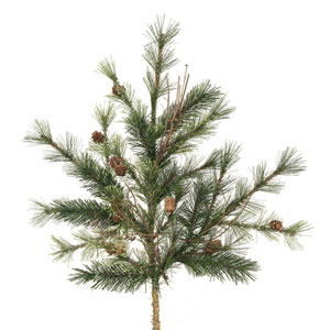 Green Mixed Country Pine Spray 24-inch