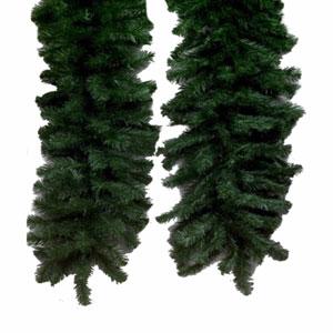 Green Douglas Fir Garland 12-inch