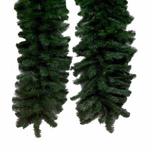 Green 9 Foot Douglas Fir Swag Garland