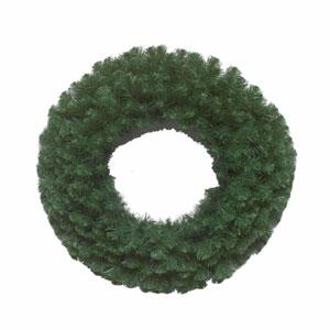 Green Douglas Fir Wreath 24-inch