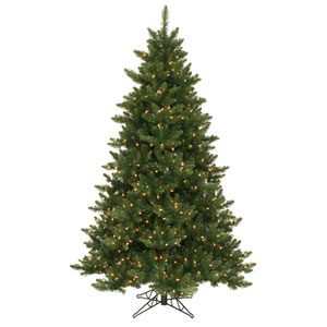 Camdon Fir 6.5-Foot Christmas Tree w/600 Clear Dura-Lit Lights and 1270 Tips