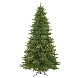 Camdon Fir Green 8.5 Foot x 58-Inch Christmas Tree with 1050 Warm White LED Lights