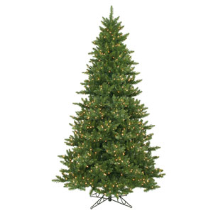 Camdon Fir 9.5-Foot Christmas Tree w/1350 Clear Dura-Lit Lights and 3006 Tips