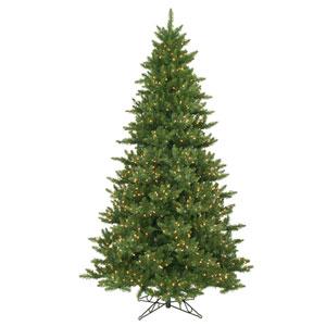 Camdon Fir 12-Foot Christmas Tree w/1950 Warm White Wide Angle LED Lights and 1665 Tips