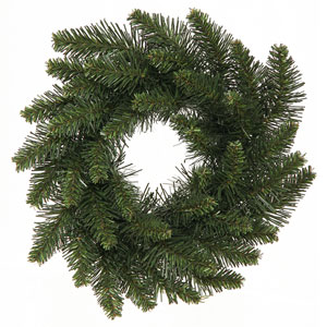 Green Camdon Fir Wreath 12-inch