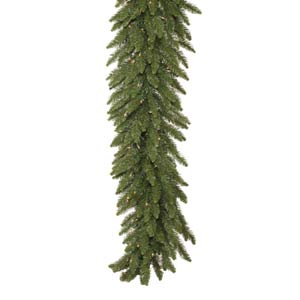 50-Ft. x 14-In. Pre-Lit Camdon Fir Garland with 550 Clear Lights