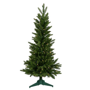 Frasier Fir 36-Inch Christmas Tree w/100 Clear Dura-Lit Lights and 218 Tips