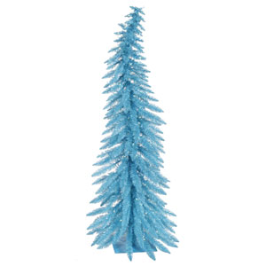 5 Ft. Sky Blue Whimsical LED Tree