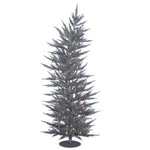 5 Ft. Silver Laser Tree