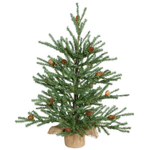 Green Carmel Pine Tabletop Tree 18-inch