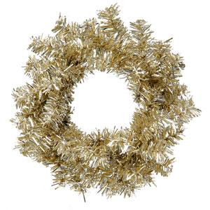 Champagne Mini Wreath 6-inch