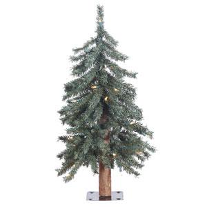2 Ft. Natural Bark Tree