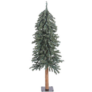 4 Ft. Natural Bark Alpine Tree