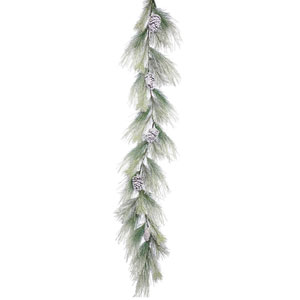6 Ft. Frosted Norway Pine Garland