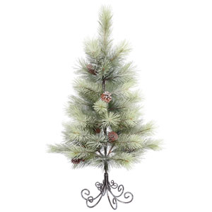3 Ft. Frosted Bellevue Pine Tree