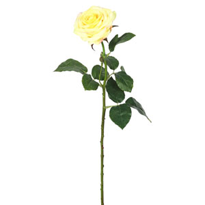 Real Touch Yelow Rose, Set of Three