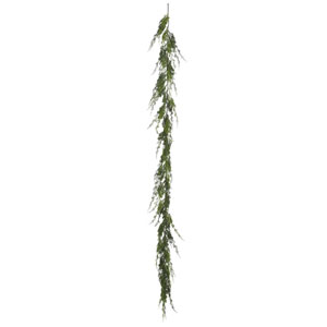 6 Ft. Green Monterey Cypress Garland