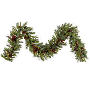 Green Cibola Mix Berry Garland 14-inch x 9-foot