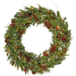 Green Cibola Mix Berry Wreath 36-inch