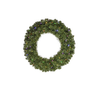 Green Grand Teton Wreath 36-inch