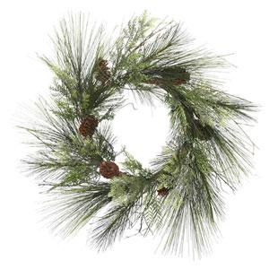 36 In. Mixed Cedar Pine Wreatj