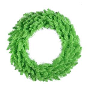 Lime Wreath 24-inch x 24-inch
