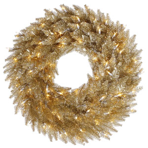 36 In. Champagne Wreath