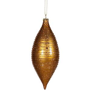 Antique Gold Drop Ornament 7-inch