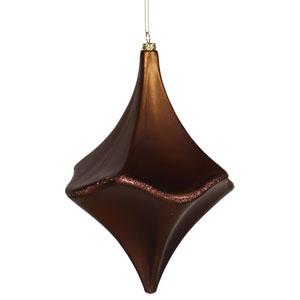 Chocolate Cut Drop Ornament 8-inch