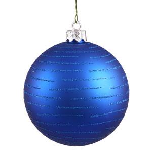 Blue Ball Ornament 120mm