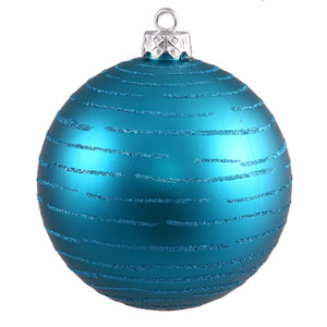 Turquoise Ball Ornament 120mm