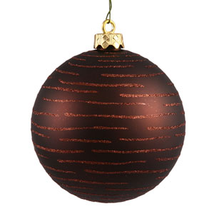 Chocolate Ball Ornament 120mm