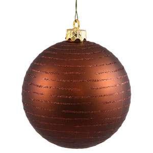 Mocha Ball Ornament 120mm