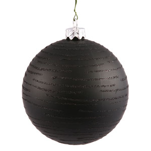 Black Ball Ornament 120mm
