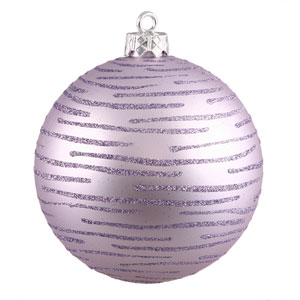 Lavender Ball Ornament 120mm