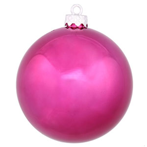 Magenta 4 Finish Ball Ornament 60mm