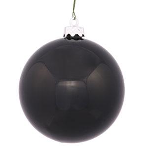 Black 4 Finish Ball Ornament 120mm