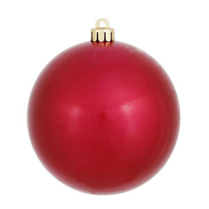 Wine 5-Inch UV Candy Ball Ornament, Set of Four