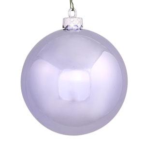 Lavender 4 Finish Ball Ornament 120mm