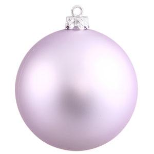 Lavender Sequin Ball Ornament 150mm