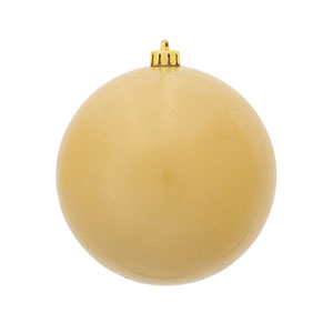 Champagne 6-Inch UV Candy Ball Ornament, Set of Four