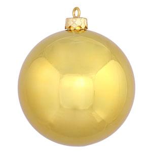Gold 8-Inch UV Shiny Ball Ornament