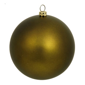 Dark Olive Ball Ornament 200mm