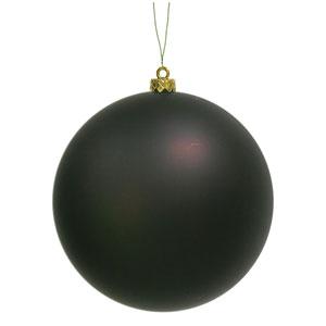 Chocolate 8-Inch UV Matte Ball Ornament